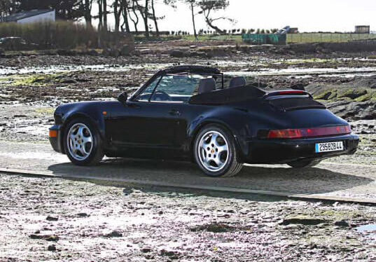 porsche 964 turbo look cabriolet